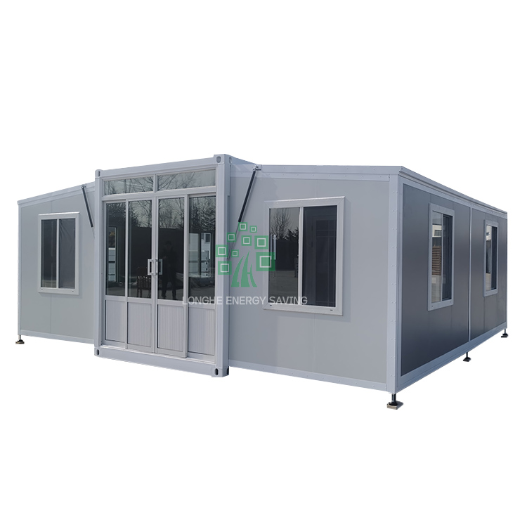 Yantai Wehouse Strength factory foldable tiny home house expandable container casa