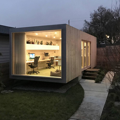 New Product Prefabricated Expandable Container House Prefab Beach Hut Modern Prefab House
