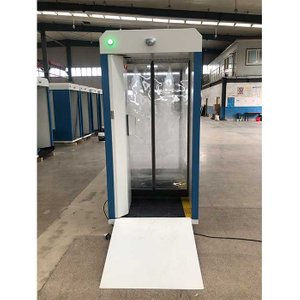 China Manufacturer Demountable Mobile Disinfection Channel Gate Chamber Public Sanitising Tunnel Temperature Measure Equipment